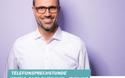 Telefon-Sprechstunde mit Clemens Hoch