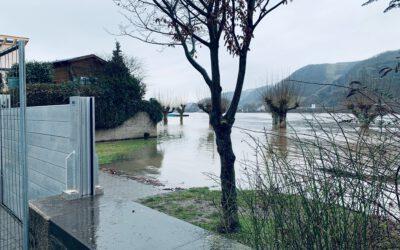 Hoch und Ruland: Investitionen in Hochwasserschutz in Andernach zahlen sich aus