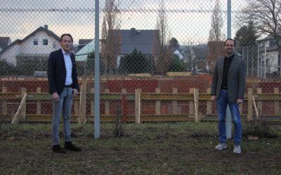 2 für Mainz-Team beeindruckt von Baufortschritten
